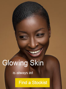 picture of model with glowing skin
