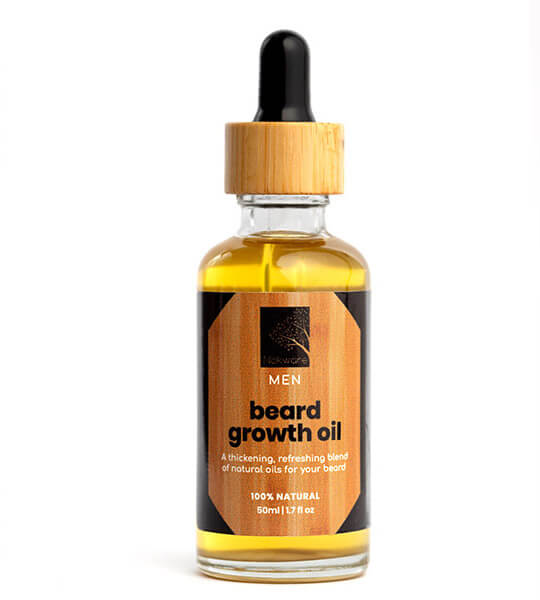 This is an image of Our all natural beard growth oil.
