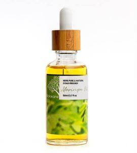 An image of our 100% pure organic Moringa Oil