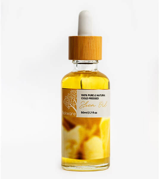 An image of our 100% Pure Organic Shea Oil