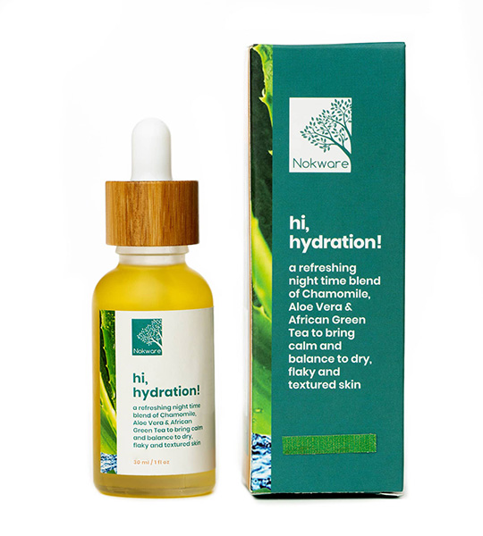 hi, hydration advanced facial oil by nokware skincare