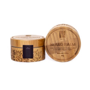 Scented Beard Balm in Eco-Friendly Bamboo Container - Nokware Skincare