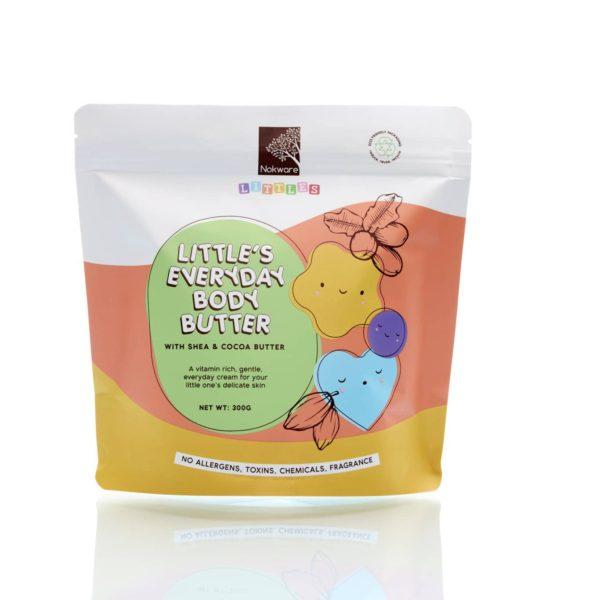 Image of packaging for Nokware Littles' Little's Everyday Body Butter by Nokware Skincare